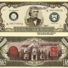 17th PRESIDENT ANDREW JOHNSON MILLION DOLLAR BILLS x 4