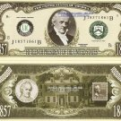 15th PRESIDENT JAMES BUCHANAN MILLION DOLLAR BILLS x 4
