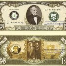 12th PRESIDENT ZACHARY TAYLOR MILLION DOLLAR BILLS x 4