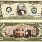 11th PRESIDENT JAMES K POLK ONE MILLION DOLLAR BILLS x4