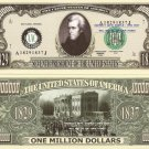 7th PRESIDENT ANDREW JACKSON MILLION DOLLAR BILLS x 4