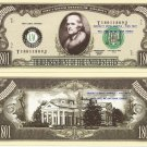 3rd PRESIDENT THOMAS JEFFERSON MILLION DOLLAR BILLS x 4