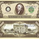 2nd PRESIDENT JOHN ADAMS ONE MILLION DOLLAR BILLS x 4