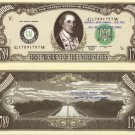 1st PRESIDENT GEORGE WASHINGTON MILLION DOLLAR BILLS x4