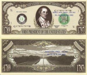 1st - 43rd AMERICAN PRESIDENTS SERIES DOLLAR BILLS SET