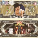 HAPPY NEW YEAR 2010 BABY MILLION DOLLAR BILLS x 4 NEW