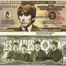 GEORGE HARRISON THE BEATLES MILLION DOLLAR BILLS x 4 NEW