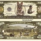 UNITED STATES CUSTOMS BORDER PROTECTION DOLLAR BILLS x4