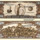 SPANISH AMERICAN WAR 1898 ROOSEVELT DOLLAR BILLS x 4