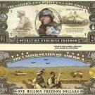 OPERATION ENDURING FREEDOM AFGHANISTAN DOLLAR BILLS x 4