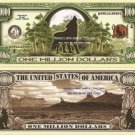 WOLVES HOWLING WOLF ONE MILLION DOLLAR BILLS x 4 NEW