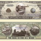 FIRST WORLD GREAT WAR WW1 ONE MILLION DOLLAR BILLS x 4