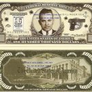 JOHN DILLINGER WANTED $100,000 DOLLAR BILLS x 4 NEW