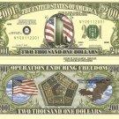 9/11 WORLD TRADE CENTER NEW YORK 2001 DOLLAR BILLS x 4