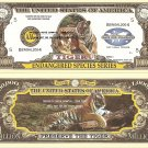 ENDANGERED SPECIES ANIMALS DOLLAR BILLS SET of 12 NEW