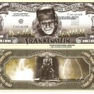 FRANKENSTEIN BORIS KARLOFF MILLION DOLLAR BILLS x 4 NEW