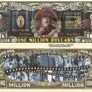 WOLFMAN LON CHANEY JR ONE MILLION DOLLAR BILLS x 4 NEW