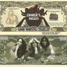 CHARLIE'S ANGELS FARRAH FAWCETT MAJORS DOLLAR BILLS x 4