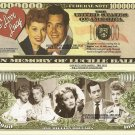 LUCILLE BALL I LOVE LUCY MILLION DOLLAR BILLS x 4 NEW