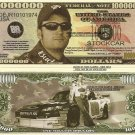 Dale Earnhardt Junior Junebug Million Dollar Bills x 4 Stockcar NASCAR