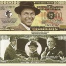 Frank Sinatra Ol Blue Eyes Million Dollar Bills x 4 I Did It My Way Singer Actor