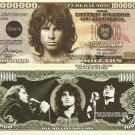 James Douglas Jim Morrison Million Dollar Bills x 4 Doors American Singer Songwriter
