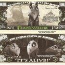 Frankenweenie Its Alive 1984 2012 Million Dollar Bills x 4