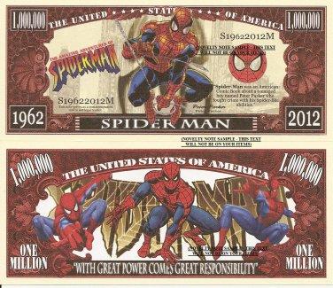 Spider Man Peter Parker Amazing Adventures Dollar Bills x 4 Comic Book 1962 2012