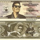 Roy Kelton Orbison Commemorative Million Dollar Bills x 4 Singer Song Writer