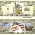 9/11 STATUE OF LIBERTY NEW YORK MILLION DOLLAR BILLS x4