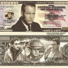 Paul Leonard Newman Million Dollar Bills x 4 American Actor Director Auto Racing