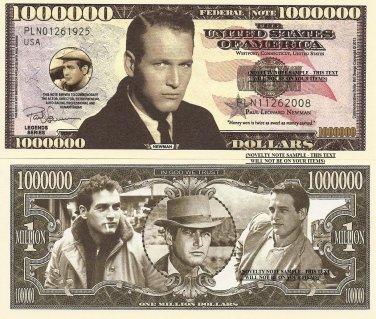Paul Leonard Newman Million Dollar Bills x 4 American Actor Director Auto Racing