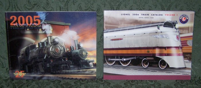 MTH Volume 2 Railking Premier, & Lionel 2006 Train Catalog, Vol. 1