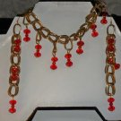 Swarovski Crystal Bracelet and Earrings