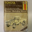 TOYOTA Pick-Up & 4-Runner Owners Workshop Manual