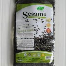 NUTRI MATE Oven Roasted Black Sesame Seed Whole Grain 90g. Add Soup,Milk,Dessert,Salad