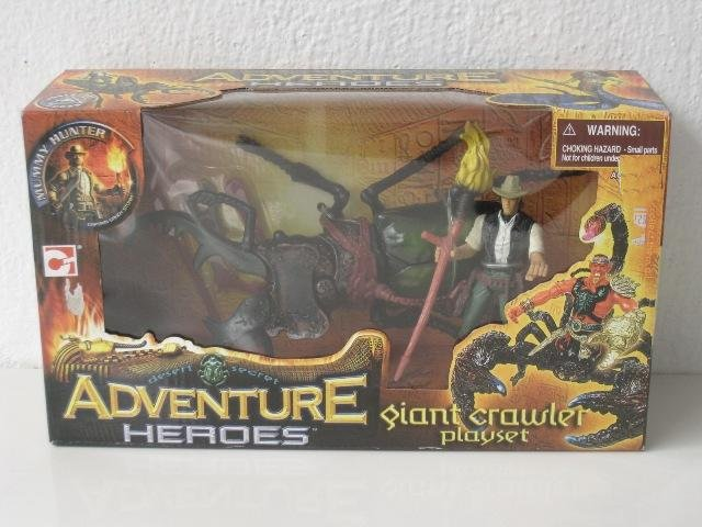 Chap Mei Toy ADVENTURE HEROES - Giant Crawler Playset - Giant Beetle