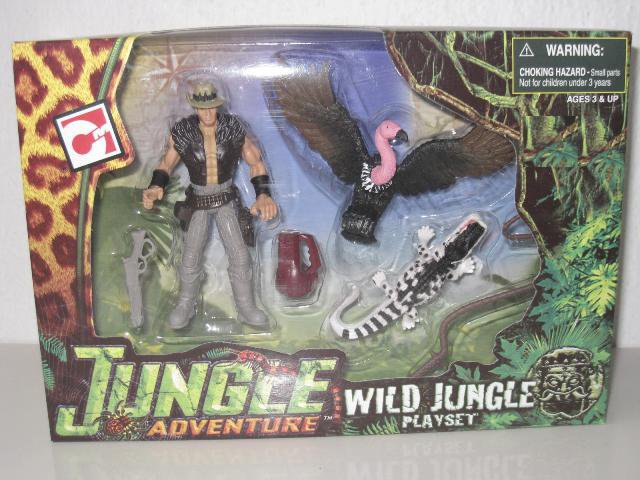 Chap Mei Jungle Adventure Wild Jungle Playset Vulture 391001
