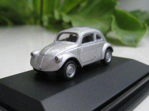 High Speed 1/87 Diecast Car Volkswagen VW 30 1937 SILVER Classic Car (4CM)