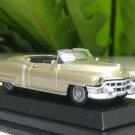 High Speed 1/87 Diecast Car Classic Model Cadillac Eldorado 1953 Cabrio  (GOLD) 5.5cm
