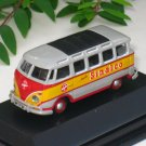 High Speed 1/87 Diecast  Model Car Classic VW Bus T1 Samba (SINALCO) 5cm