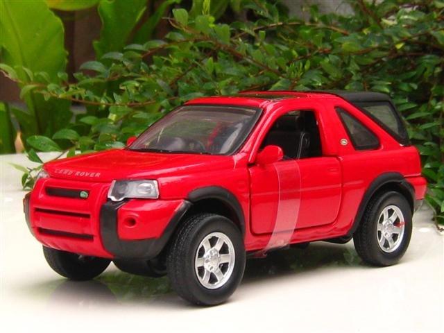 NewRay 1/32  Diecast Car Model Land Rover Freelander 2004 RED
