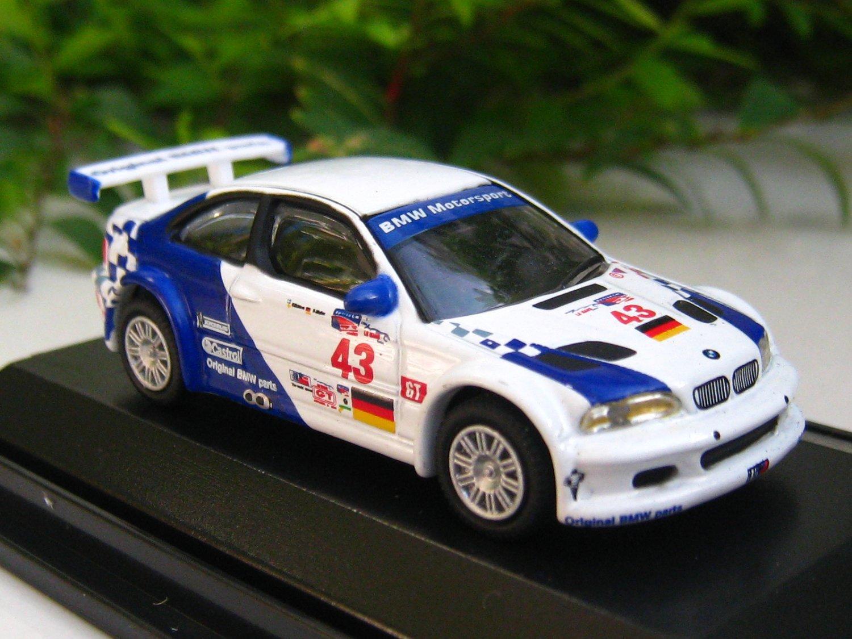 High Speed 1/87  BMW M3 GTR American Le Mans Series 2001 #43