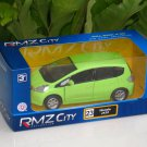 "RMZ DSM 5"" Diecast Model Car #23 Honda Jazz / Fit APPLE GREEN"