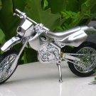 Table Lighter Scrambler Motorcycle Bike Shape SILVER