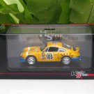 High Speed 1/43 Diecast  Model Car Porsche 911 Carrera RS Coupe 2.7 1973 #105