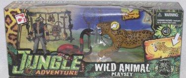 Chap Mei -  Jungle Adventure - Wild Animal Playset (Snake & Leapard)