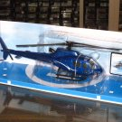 NewRay Sky Pilot  1/43  Eurocopter AS350 B2 Blue Diecast  Model Helicopter (24cm)