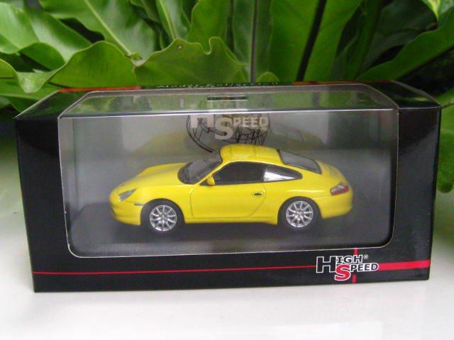High Speed 1/43 Diecast  Model Car Porsche 911 Carrera 4 Coupe 2001
