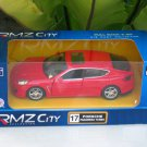 "RMZ DSM (5"") Die cast Model #17 PORSCHE PANAMERA TURBO  (Red)"